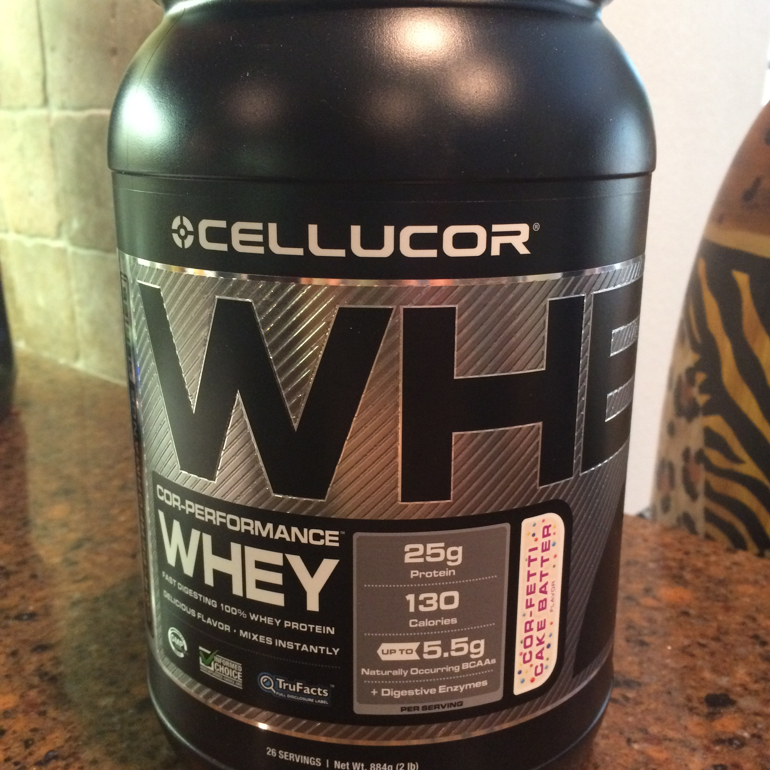 Cellucor Cor Fetti Cake Batter Whey Protein Powder