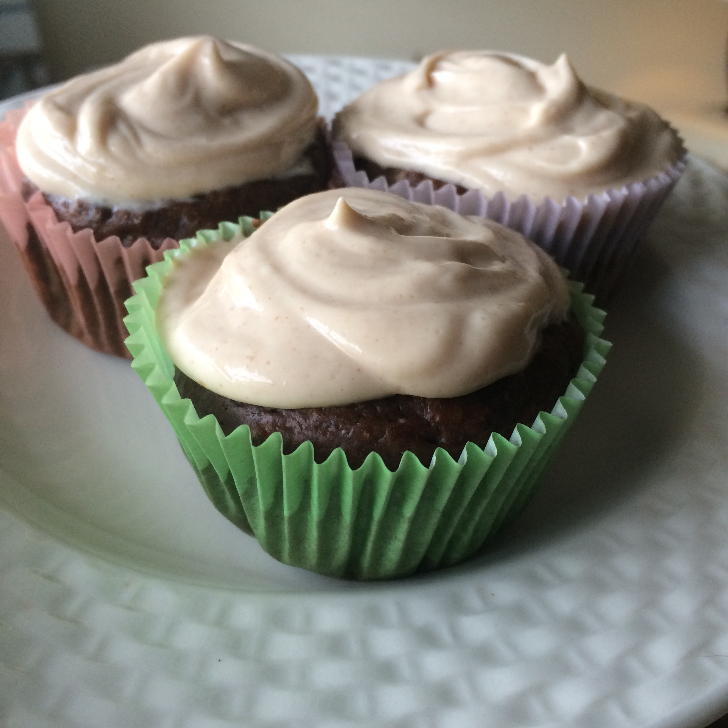 peanut butter protein cupcakes